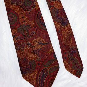 Jos. A. Bank Executive Collection Paisley Tie 60+